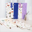 """Nature Chat"" 1pc Document File Folder 12 Pockets Expanding Study Organizer"