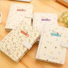 """Beautiful Flower"" 1pc Journal Diary Cute Lined Notebook Hard Cover Notebook"