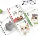 """Cat Baby"" 1pc Cute Hard Cover Diary Study Notebook Travel Journal Pocket Memo"