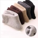 """Peaceful Winter"" 5 Pairs Unisex Socks Wool Cozy Fuzzy Warm Socks Casual Sox"