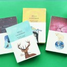 """Hello Goodnight"" 1pc Notebook Sketchbook Blank Paper Cute Diary Journal Planner"