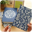 """""""Blue White Porcelain"""" 1pc Journal Diary Classic Luxury Lines Vintage Planner"""