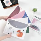 """Sweet Dream"" File Folder Pack of 4 One Layer A4 Cute Plastic Document Study Bag"