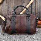 Crazy horse leather men's bag business handbag casual shoulder Messenger bag