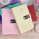 Personalized Serenity Prayer Notebook with Password Code Lock Gift for Teenger