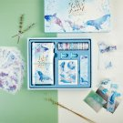 """""""Seaworld Scrapbooking Gift Pack"""" Diary Planner Stickers Washi Tapes Clips Cards"""