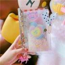 """""""Unicorn Girl Scarpbooking Pack"""" 1pc Grid Papers PVC Notebook Stationery Gift"""
