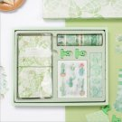"""""""Green Hope Scrapbooking Gift Pack"""" Diary Planner Stickers Washi Tapes Clips"""