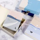 """""""Cats Journey"""" 1pc Journal Notebook Lock Box Diary Cute Stationery Gift Package"""