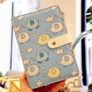 """""""Sky Elephant"""" 1pc Faux Leather Planner Cute Monthly Weekly Daily Agenda To Do"""