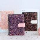 """""""BlingBling Faux Leather"""" 1pc Diary Cute Journal Monthly Plan Lined Grid Papers"""