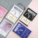 """""""Time Wanted"""" 1pc Hard Cover Monthly Weekly Planner Diary Notebook"""
