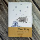 """Wind Story"" My Serect Diary with Combination Lock Password Journal for Adults"