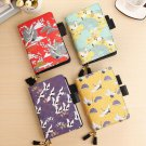 A7 Japanese Style Traveler's Pocket Journal Graph Lined Diary for Girl and Women