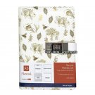Botanical Garden Serect Diary with Passcode Lock, Blank Dotted Grid Boju Journal