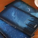 """""""Good Night Slim"""" 1pc Journal Diary Hard Cover Lined Papers Pocket Notebook Memo"""