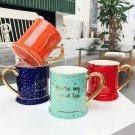 """Shining Dots"" Modern Ceramic Mug Milk Coffee Cup Lovers Home School Mugs Cups"