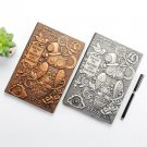 """""""Magical Owl"""" 1pc Embossed Hard Cover Diary Journal Notebook Vintage Notepad"""