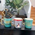 """Young Girl"" Cute Ceramic Mug Milk Coffee Cup Home School Fashion Mugs Cups Gift"