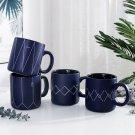 """Blue Dream v2"" Nordic Matte Ceramic Mug Milk Coffee Tea Cup Home Drinkware Gift"