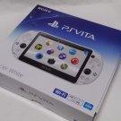 PlayStation Vita Wi-Fi Console System PCH-2000 Glacier White PS Vita
