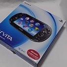 SONY PS Vita PCH-1000 ZA01 Black 3G Wi-fi Model Console