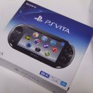 PlayStation Vita Wi-Fi Console System PCH-2000 Black PS Vita PSV