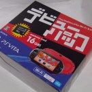 PlayStation Vita Wi-Fi Console DEBUT PACK Red Black