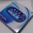 SONY PS Vita PCH-1000 ZA04 Blue Wi-fi Model Console