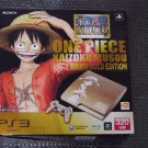 USED PS3 PlayStation3 Console One Piece Kaizoku Musou Limited Model GOLD