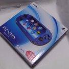 USED SONY PS Vita Console System PCH-1000 ZA04 BLUE 3G Wi-fi Model