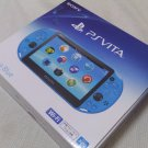 USED PlayStation Vita Wi-Fi Console System PCH-2000 AQUA BLUE PS Vita