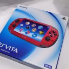 SONY PS Vita PCH-1000 ZA03 RED Wi-fi Model Console