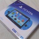 PlayStation Vita Wi-Fi Console System PCH-2000 AQUA BLUE PS Vita