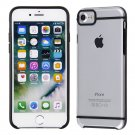 Apple iPhone 7 / 7s Clear PC Slim Cover with Color Liner Design