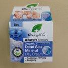 DR ORGANIC Dead Sea Mineral DAY CREAM 50ml. Anti-aging cream. FREE SHIPPING