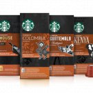 STARBUCKS COFFEE CAPSULES FOR NESPRESSO VARIOUS FLAVOURS e.g. COLOMBIA ESPRES