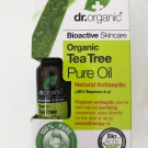 Dr Organic Tea Tree Pure Oil - Natural Antiseptic - Aromatherapy Oil 10ml