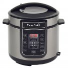 Megachef 6 Quart Digital Pressure Cooker with 14 Pre-set Multi Functions