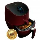 MegaChef 3.5 Quart Airfryer And Multicooker With 7 Pre-Programmed Settings