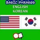 1001+ Basic Phrases English - Korean by Gilad Soffer (2014, Paperback)