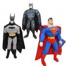 "1pc 8"" 25cm Hot Sell Toy Spiderman, Batman, Superman,High Quality,Plush Toy"