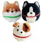 30cm Cute Plush Shiba Jack Russell Terrier Boston Dog Plush Animal Doll Toy