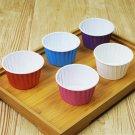 100 Pcs/lot 7*4cm Paper Cake Cup Muffin Cupcake Paper Muffin Cases Cake Sta