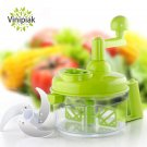 Multifunctional Kitchen Manual Vegetable Large Capacity Nut Onion Chopper H
