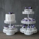 SWEETGO 2 tiers cupcake stand wedding Cake decoratingfor party event candy