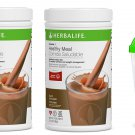 2 Pcs Herbalife FORMULA 1 Healthy Meal Nutritional Shake CHOCOLATE + Shaker FREE