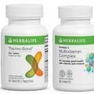 Herbalife Thermo-Bond 90 tablets + Formula 2 Multivitamin Comlex 90 tablets, LOT