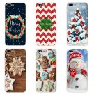"""Apple iPhone 7 Plus Cover Phone Case Shell 4.7"""" 6 6S 5.5 Inch Transparent Cover Christmas Day"""
