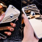 Gold Luxury Plating Luxury Mirror Case Cover For iPhone 6 7 6S 5S